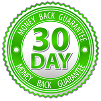 30 day money back guarantee with the carpal solution
