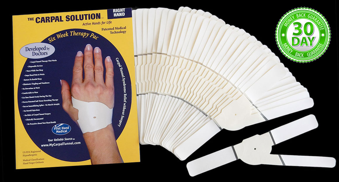 the carpal solution offers a 97 percent success rate
