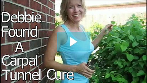 debbie cures carpal tunnel pain