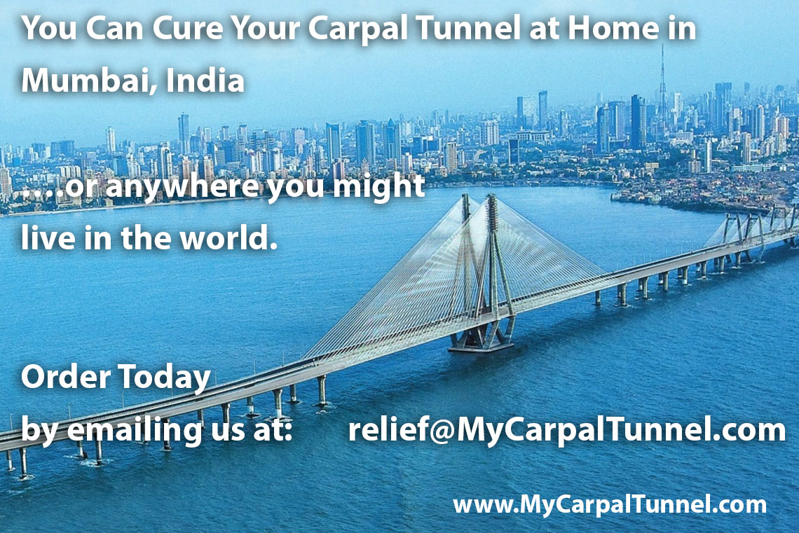 You Can Cure Your Carpal Tunnel at Home in Mumbai India