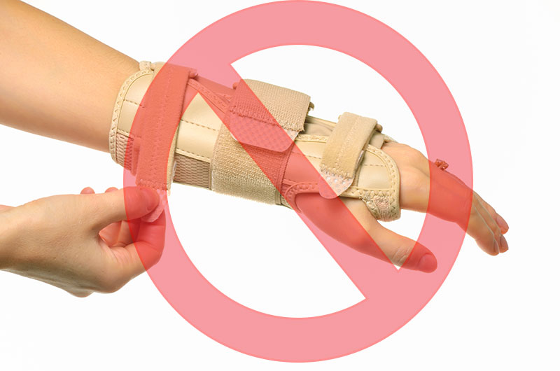 The Carpal Solution is not just a wrist support it is a therapeutic solution