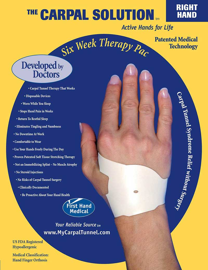 carpal tunnel Carpal tunnel syndrome refers to compression of the median nerve carpal tunnel syptoms include pain, numbness and hand weakness treaments include surgery.