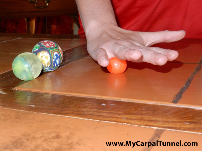 This massage action will accelerate your recovery from Carpal Tunnel Syndrome