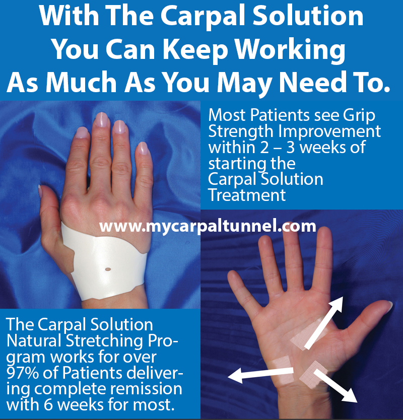 don't let carpal tunnel put your career at risk