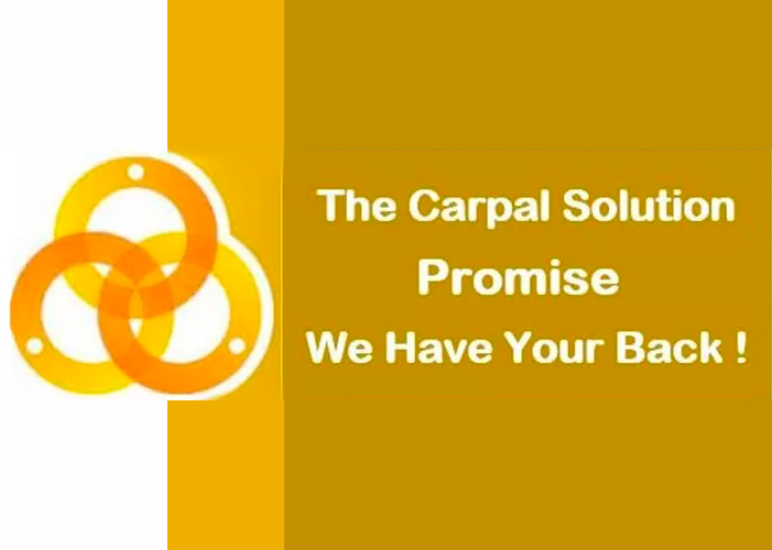 The carpal solution promise